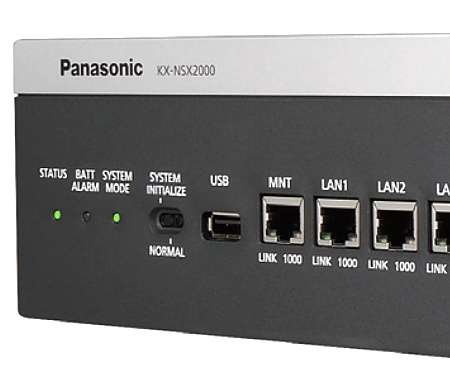 Konfigurace správa údržba a servis KX-NSX2000 KX-NSX1000