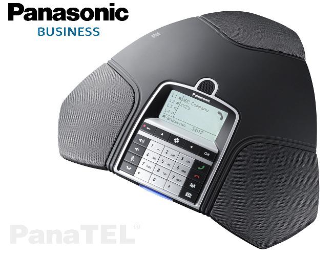 IP konferenční telefon Panasonic KX-HDV800 s funkcí plně duplexního hlasu a HD kvalitou zvuku