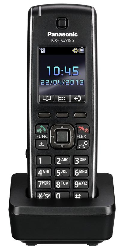 Bezdrátový telefon Panasonic KX-TCA185 ( KX-TCA185CE ) pro telefonní ústředny