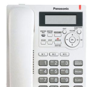 Telefon se záznamníkem na pevnou linku Panasonic KX-TS620 | KX-TS620FXW