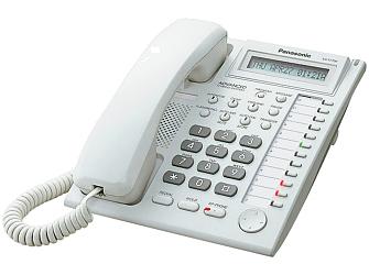 Panasonic KX-T7730CE je osvědčený systémový telefon pro hybridní ústředny Panasonic.