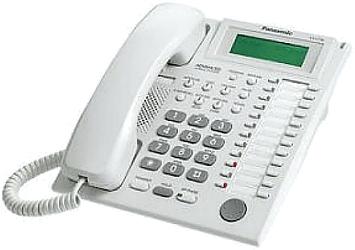 Komfortní systémový telefon KX-T7735CE pro analogové telefonní ústředny Panasonic.